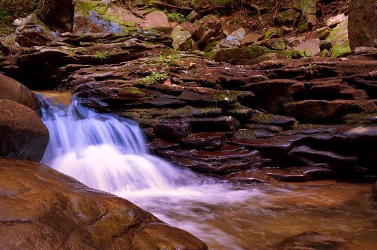 Rising Fawn, GA: The waterfalls and streams are particularly active after rainfall