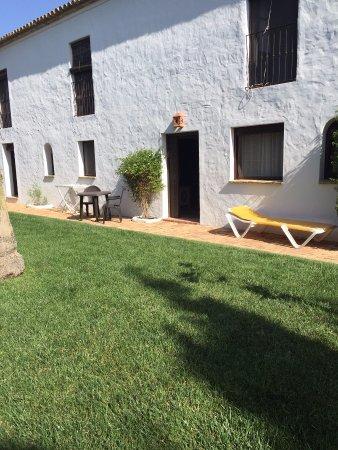 Hacienda Roche Viejo: jardín privado