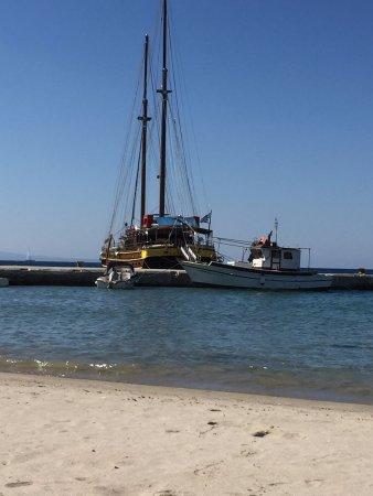 Katerina 3 Island Cruise: erster Halt in der Bucht