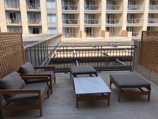 David Citadel Hotel: Terrasse