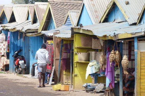 Open-air markets: Andravoahangy: Mercato de la digue