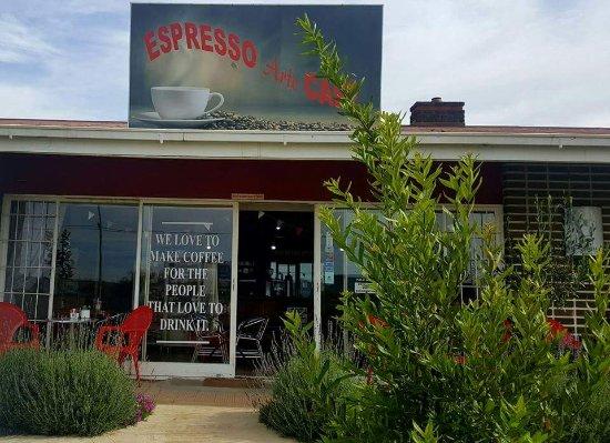 Volksrust, Sør-Afrika: Espresso Arte Cafe