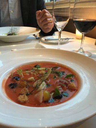 Boyce, VA: Dinner appetizer-gazpacho
