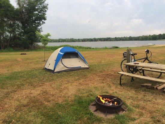Allegan, MI: Tent Camping