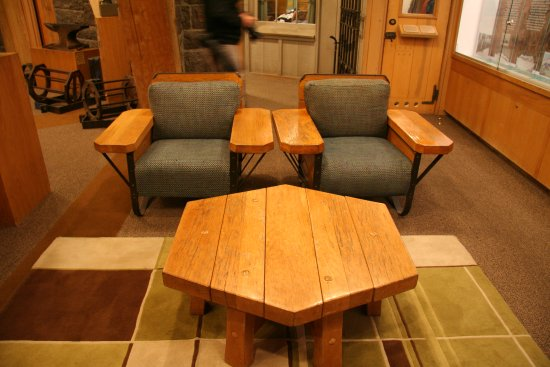 Timberline Lodge Ski Area: Handcrafted Furniture