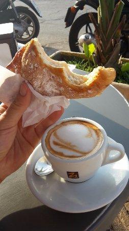 Bar Caffe del Porto Pasticceria: Fazzoletto con la ricotta