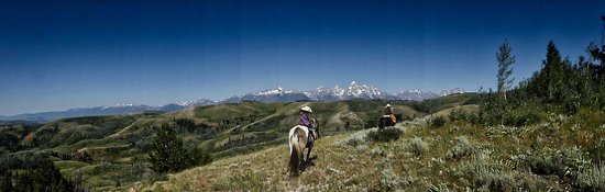 Kelly, WY: Fabulous vistas from the trail