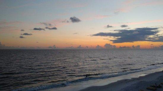 Mexico Beach: Sunset