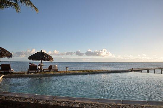 Hotel Libertalia: vue sur la piscine !
