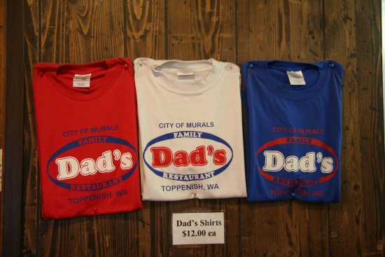 Toppenish, Вашингтон: buy a shirt