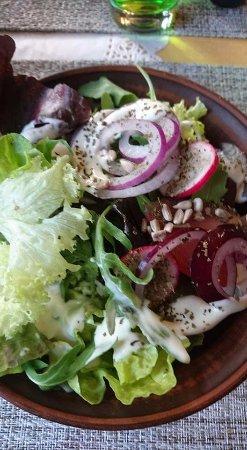 Dilsen-Stokkem, Belgium: salade