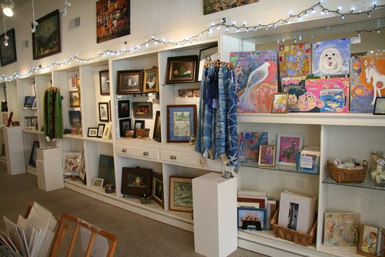 Dunsmuir, CA: the gallery shop