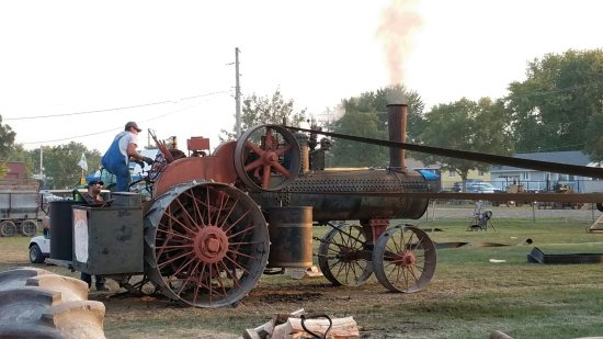 Mount Pleasant, IA: Steam Horsepower