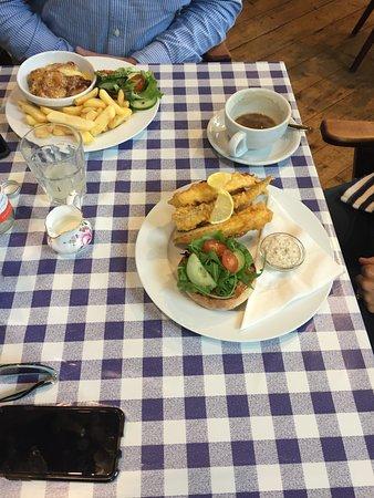Saint peters coffee shop marlborough restaurant reviews for Fish restaurant marlborough