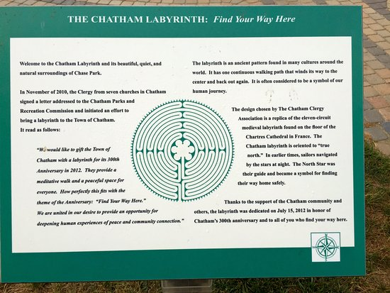Chatham's Godfrey Windmill : About the labrynth