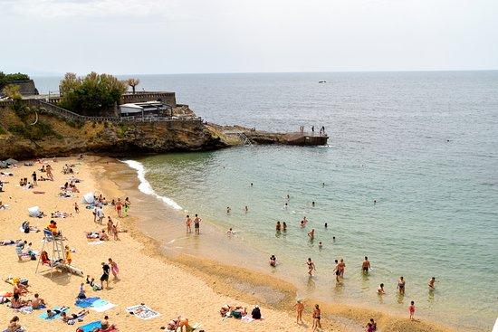 Port vieux beach biarritz 2017 ce qu 39 il faut savoir - Hotel de la plage biarritz 3 esplanade du port vieux ...