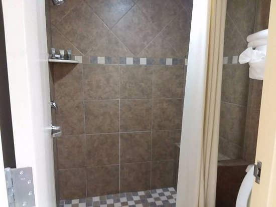Old Creek Lodge: Shower