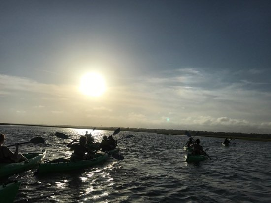 Summertide Adventure Tours: The group of us kayaking