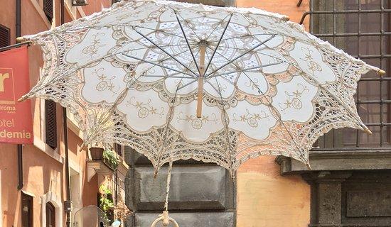 Il Ristoro dal Patriota: regenschirm das war das schönste im Restorante