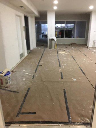 La Quinta Inn & Suites Orlando Universal Area: lobby floor