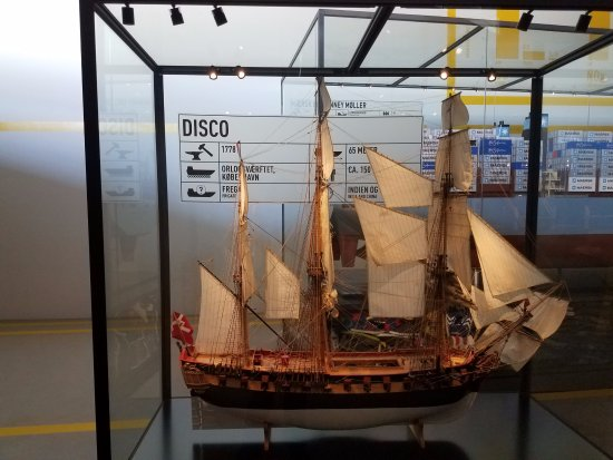 M/S Maritime Museum of Denmark: One of many maritime models