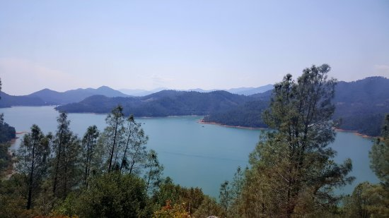 Lake Shasta Caverns: view from the top