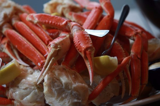 Alaskan snow crab legs picture of ford 39 s fish shack for Two fish crab shack