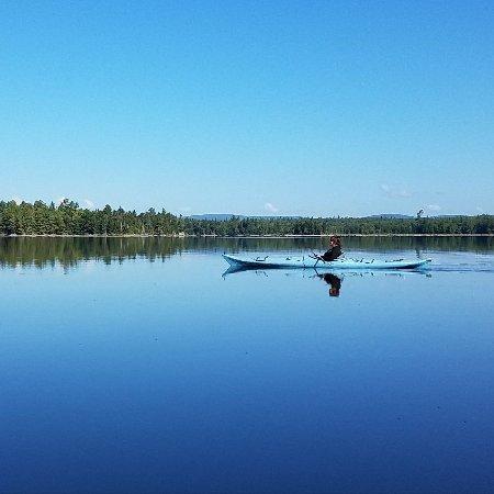 Rockwood, ME: Lake Brassua Kayaking