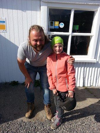 Рейкьявик, Исландия: Haukur ( the Manager ) and Freyja