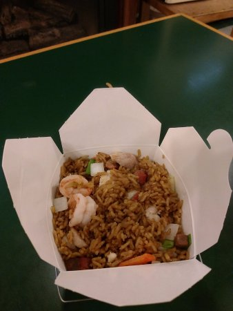 Parsonsfield, ME : House Special Fried Rice. Must try!