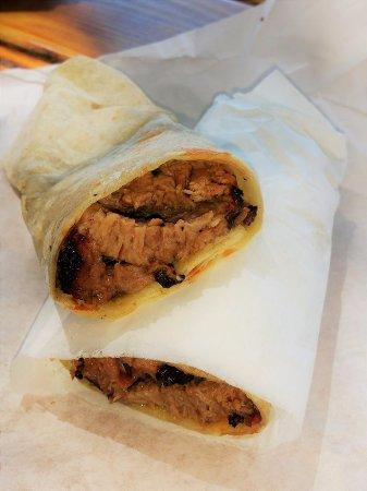 Buda, TX: brisket burrito