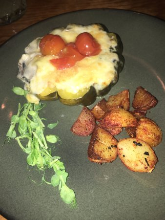 Cenzontle: vegetarian pumpkin dish