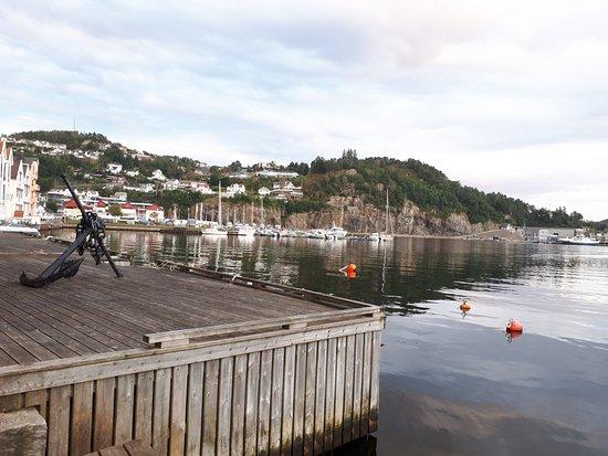Flekkefjord市内