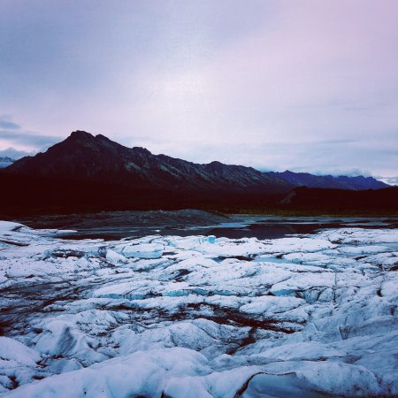 Glacier View, AK: Views from the Matanuska Glacier
