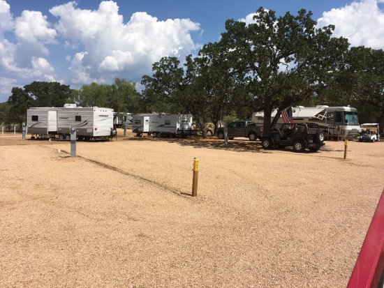 Buchanan Dam, TX: RV Sites