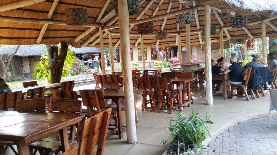 The Rainforest Cafe: sala konsumpcyjna