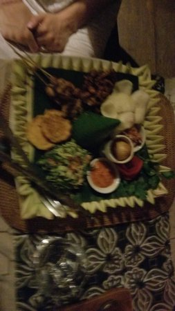 Bali Eco Stay Bungalows: dinner