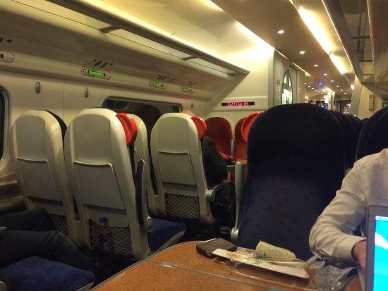 Standard Class Seats - Picture of Virgin Trains, London