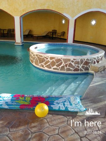 Los Algodones, México: Pool at the hotel