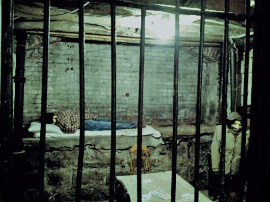 غابلينجرز هوتل جونتر: One of the jail cells in the museum