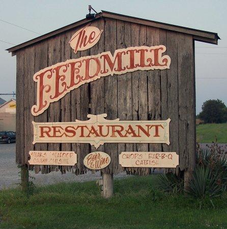 Morganfield, KY: Restaurant sign