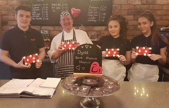 Dyserth, UK: Valentine's Day