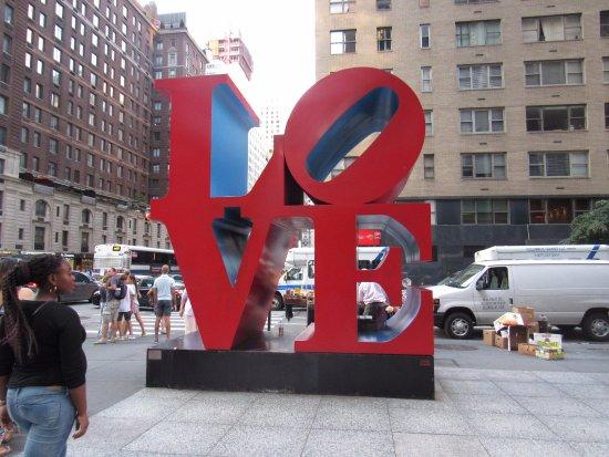 マンハッタンのラブスカラプチャー