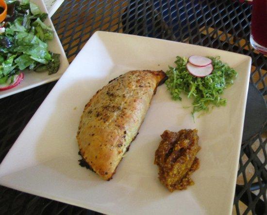 Cafe Botanica: Lamb Empanada with apricot mostaza