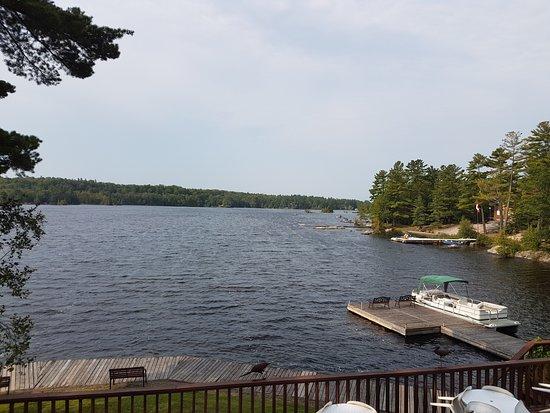 Buckhorn, Kanada: Breakfast view!