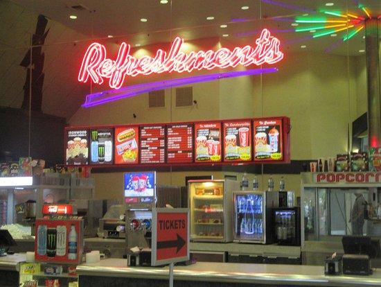 Snack Bar, Ironwood 8 Cinema, Minden, Nevada