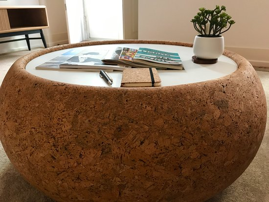 Superbe Martinhal Lisbon Chiado Family Suites: Loved The Cork Coffee Table