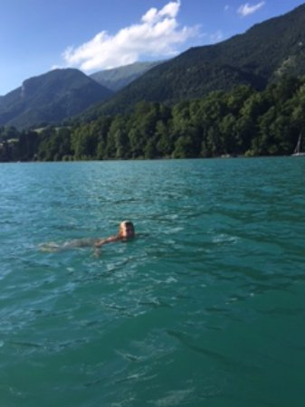 Landhaus zu Appesbach: The lake is crystal clear & great for a swim