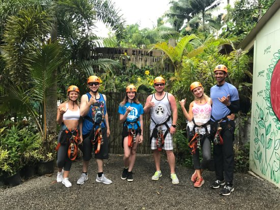 Haiku, HI: 2017.08.23-27.Mahalo for your visit! #junglezip #junglezipline
