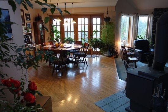 ماونتنفيو بيد آند بريكفاست: Breakfast area